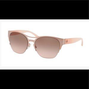 Rose gold Tory Burch sunglasses